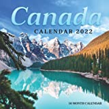 Canada Calendar 2022: Canada Nature Travel & Scenic Calendar, Monthly Square Calendar 2022-2023, 16 Month Calendar, Home And Office Calendar Perfect Calendar for Organizing & Planning