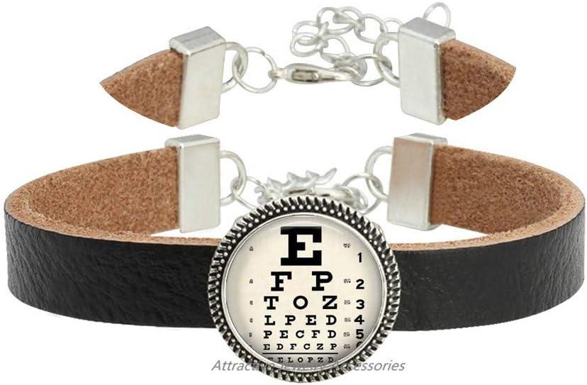 Wklo0avmg Latest item Fashionable Eye Chart Jewelry Gift Bracelet