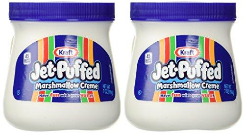 Kraft Jet Puffed Marshmallow Creme Spread, 7oz (Pack of 2)
