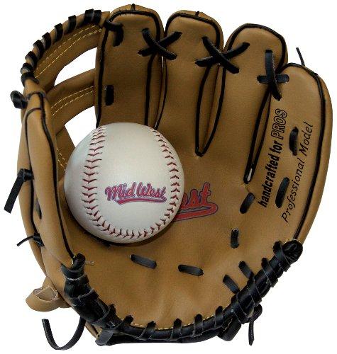 Midwest Kids Glove - Guante de béisbol infantil, tamaño 9 inch, color...