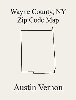 Wayne County, New York Zip Code Map: Includes Arcadia, Galen, Huron, Lyons, Macedon, Ontario, Palmyra, Rose, Savannah, Sodus, Walworth, Williamson, Wolcott, ... Marion, County subdivisions not defined, an