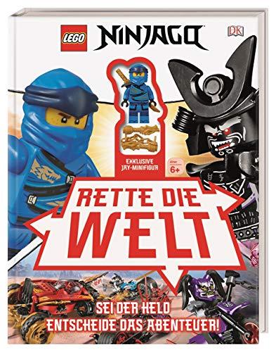 LEGO® NINJAGO® Rette die Welt: Sei der Held Entscheide das Abenteuer! Mit exklusiver Minifigur