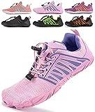 SUYSTEX Zapatos descalzos para mujer, zapatos descalzos para hombre, transpirables, antideslizantes, 36-48 EU, color, talla 37 EU