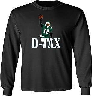 Long Sleeve Black Philadelphia Jackson D Jax Pic T-Shirt