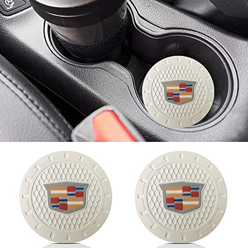 ffomo Bearfire 2.75 inch Diameter Oval Tough Car Logo Vehicle Travel Auto Cup Holder Insert Coaster Can 2 Pcs Pack Volkswagen