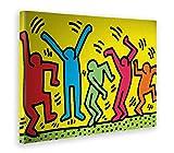 Giallobus - Bild - Druck AUF LEINWAND - Keith Haring - DIE