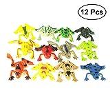 TOYMYTOY 12 stücke Kunststoff Mini Frösche Spielzeug Simulation Tropische Frosch Figur Modell Vorschule Kinder Lernspielzeug