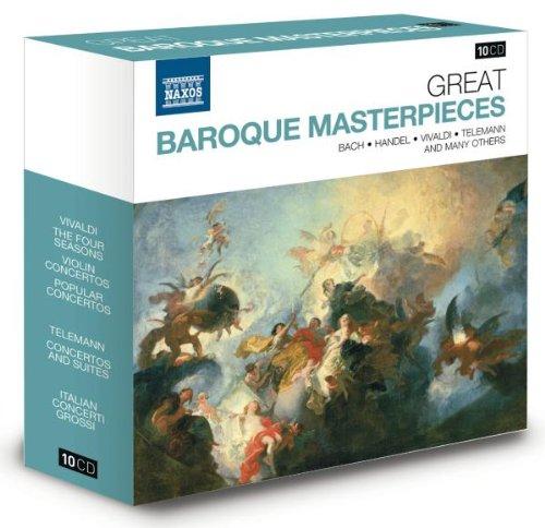 Große Barocke Meisterwerke - Naxos Jubiläumsbox