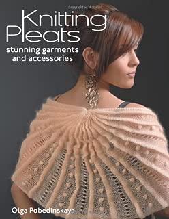 diagonal pleats