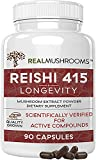 real mushrooms reishi 415