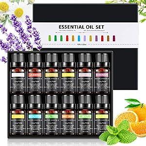 Pack Básico de Aceites Esenciales - Piel Clara - 5 x 10 ml - 100% Puro: Amazon.es: Hogar