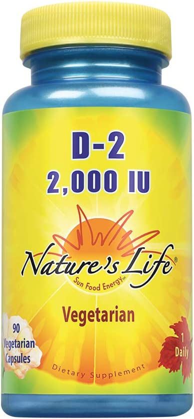 Nature's Cheap mail order specialty store Life Vitamin D-2 Ergocalciferol Colorado Springs Mall 2000IU Potency High