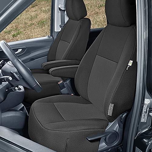 Sitzbezüge Tailor Made passgenau geeignet für Mercedes Vito W447 ab 2014 (2 Sitzer) Stoffbezüge Neuheit