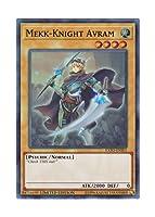 遊戯王 英語版 EXFO-ENSE1 Mekk-Knight Avram 機界騎士アヴラム (スーパーレア) Limited Edition
