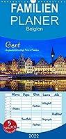 Gent - die geschichtstraechtige Perle in Flandern - Familienplaner hoch (Wandkalender 2022 , 21 cm x 45 cm, hoch): Impressionen aus der belgischen Stadt Gent (Monatskalender, 14 Seiten )