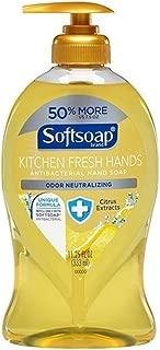Softsoap Kitchen Fresh Hands Antibacterial Liquid Hand Soap, 11.25 oz Per Bottle (2 Pack)
