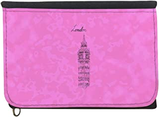Landmarks - Big Ben clock Printed Case Wallet,  jeans