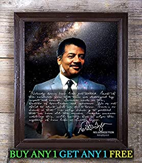 Neil Degrasse Tyson Death Black Hole Autograph Signed 8x10 Photo Reprint #89 Special Unique Gifts Ideas Him Her Best Friends Birthday Christmas Xmas Valentines Anniversary Fathers Mothers Day