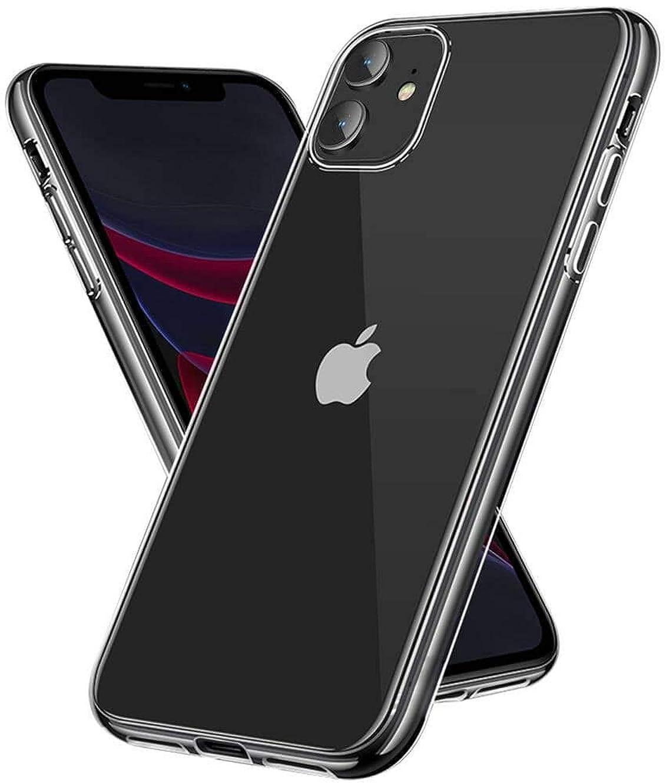 店員目覚めるライオネルグリーンストリートiPhone 11 ケース クリア 薄型 軽量 Arae ストラップホール付き スマホケース iPhone 11 ケース 対応用 耐衝撃 レンズ保護 滑り止め アイフォン 11 2019新型 6.1 インチ ケース (クリア)