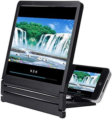 Honsin Handy-Bildschirm Bildschirm mit 3D-Lupe 2-3-fache Vergrößerung High Definition Amplifier Foldable