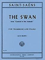 サン=サーンス : 「動物の謝肉祭」より 白鳥/インターナショナル・ミュージック社ピアノ伴奏付トロンボーン・ソロ用編曲