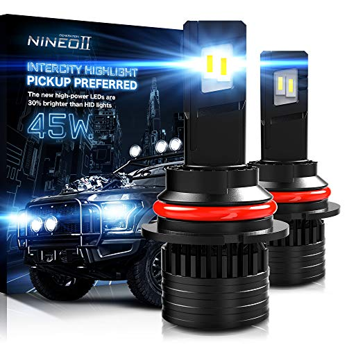 NINEO 9007 LED Bulbs ,16000LM 90W Extremely Bright Conversion Kits G-XP x3 Chips...