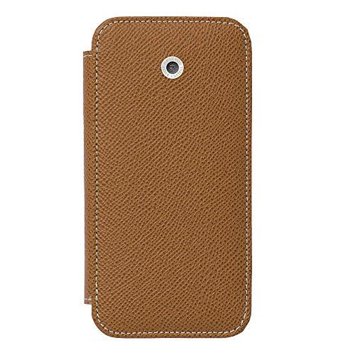 Smartphonehülle für iPhone 8 von Graf von Faber Castell, Modell Epsom in Cognac