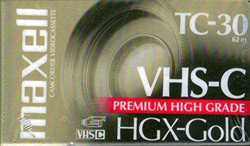 High Grade VHS-C Videotape Cassette Set of 2