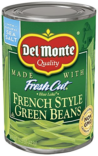 Del Monte Canned French Style Green Beans, 14.5 Ounce (Pack of 12)
