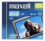 Maxell DVD-R CAM 30 min. 1,4 GB, NC - DVD+RW vírgenes (NC, 1,4 GB, DVD-R, 30 min, Caja de Joyas)