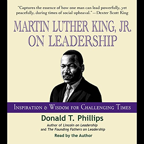 Martin Luther King Jr., on Leadership audiobook cover art