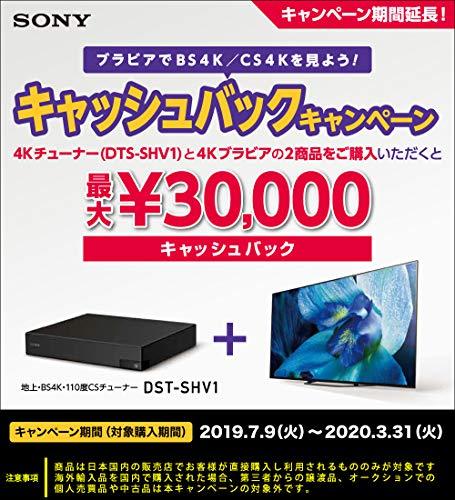 ソニー『地上・BS4K・110度CS4Kチューナー(DST-SHV1)』
