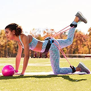 Booty Toner Belt Resistance Exercise Band -S/M Size-Build, Lift, and Tone Your Glutes. Perfect Resistance Training Equipment.