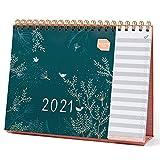 Boxclever Press Everyday Tischkalender 2021 mit Monatsansicht. Kalender 2021 Tischkalender von Jan. - Dez.21. Tischkalender 2021 Quer mit Separater To-do-Liste zum Aufstellen für Zuhause.