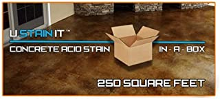 Acid Stain in-A-Box | 250 Square Feet (Vintage Umber)