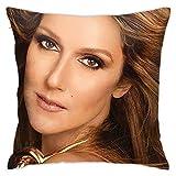 XCNGG Taie d'oreiller Maison Oreiller Housse de Coussin literie Home Pillowcase Soft Pillows Cover Custom-Made 18 X 18 inch / 45 X 45 cm for Cusual