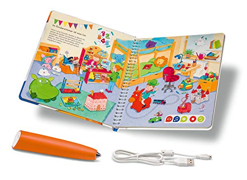 Ravensburger tiptoi Starter-Set Stift und Wörter-Bilderbuch