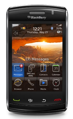 BlackBerry Storm2 9520 Smartphone (WLAN, SurePress, 3.2 MP, Bluetooth, GPS) ohne Branding schwarz
