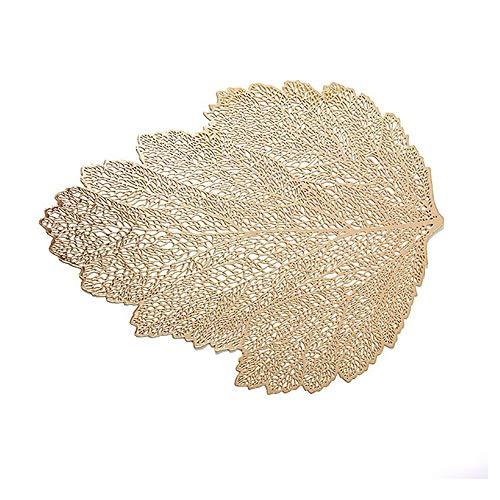 Unique WElinks - Mantel individual de PVC con aislamiento hueco, para mesa de comedor (1 unidad), diseño de casas, decoración de boda, resistente al calor