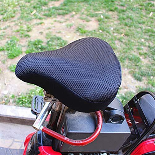 YKWYQ Coprisella Bici 2 Pezzi di Accessori di Ricambio Cuscino Pad Sella della Bici da Corsa 3D Mesh Antiscivolo ispessite sede di Bicicletta Soft Cover Ciclismo Ricambi