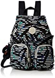Kipling Firefly Up, Mochila para Mujer, Multicolor (Bamboo Stripes), 22x31x14 cm
