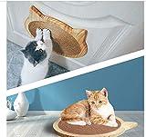 YSG Sisal Wood Cat Scratch Board Succión Cat Scratcher Kitten Scratching Mat Silla Table Mat Muebles Protector Cat Play Toys Cat