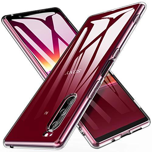 iBetter für Sony Xperia 5 Hülle, Soft TPU Ultra Thin Cover Handyhülle Stoßfest [Anti-Scratch] [Slim-Fit] Shock Absorption Hülle passt für Sony Xperia 5 Smartphone, klar