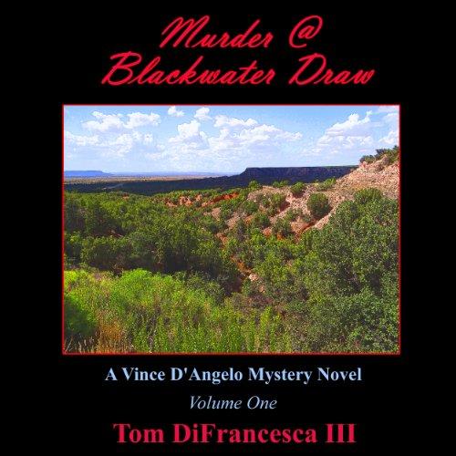 Murder at Blackwater Draw audiobook cover art