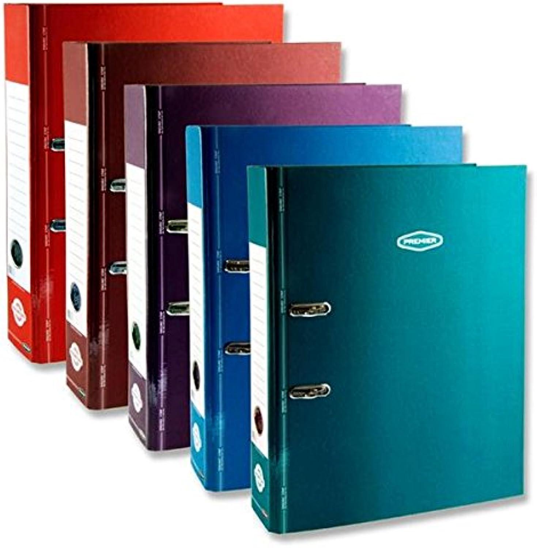 Premier Stationery a2813866 premtone Datei Foolscap Hebel, Bogen mit Enduro Streifen B07DHZMJGB   Der neueste Stil
