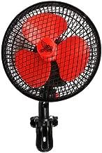 Ventilador / Circulador de aire oscilante con clip pinza - 15cm / 20W (Cyclone)