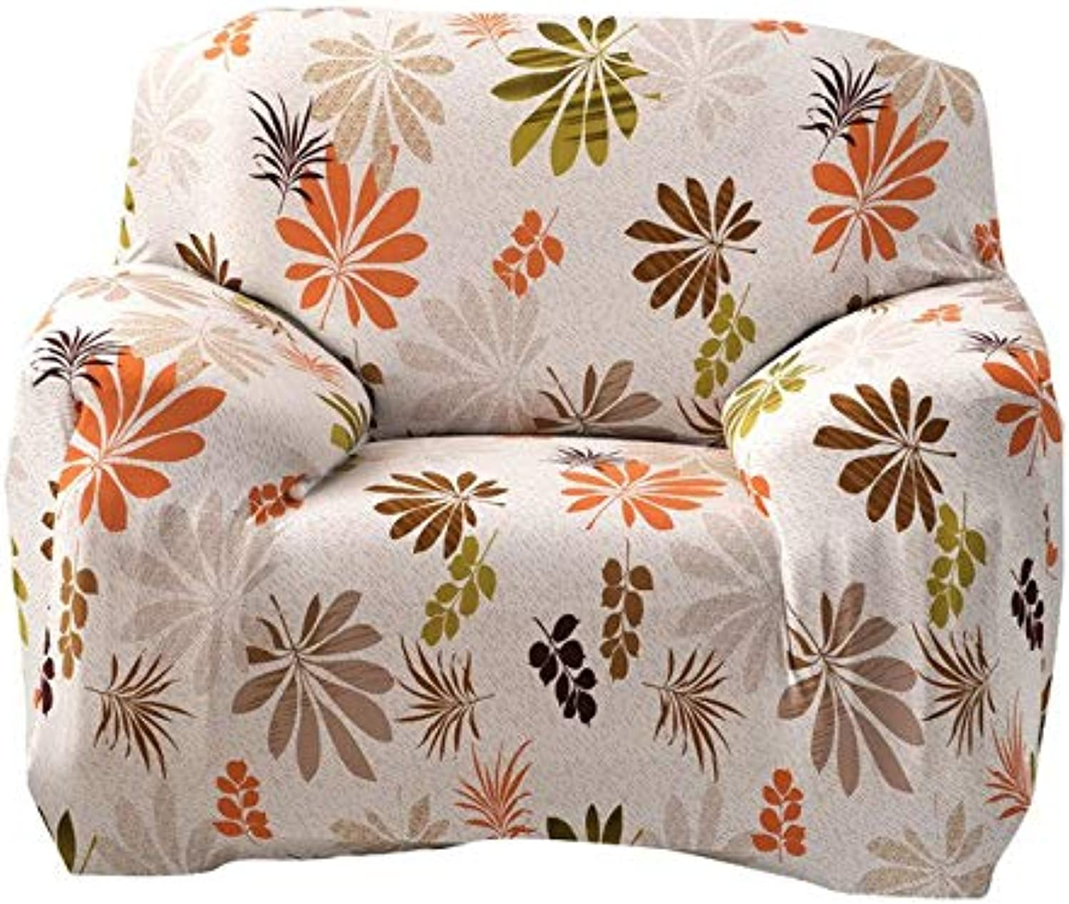 2 Style Sofa Cover Sofa Slipcover 1 2 3 4-Seat Single Two Three Four-Seater Tight Stretch Printed Sofa Canape Couch Slipcover   B 1 seat