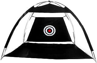 Decdeal Golf Practice Net Hitting Nets Portable Driving Range Golf Net Training المساعدة مع الهدف وحقيبة حمل للرياضات الدا...