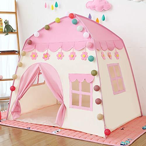 Innolites - Tienda de campaña para niños, diseño de castillo de princesa, castillo de princesa, castillo de juegos, casa de juegos para interiores y exteriores