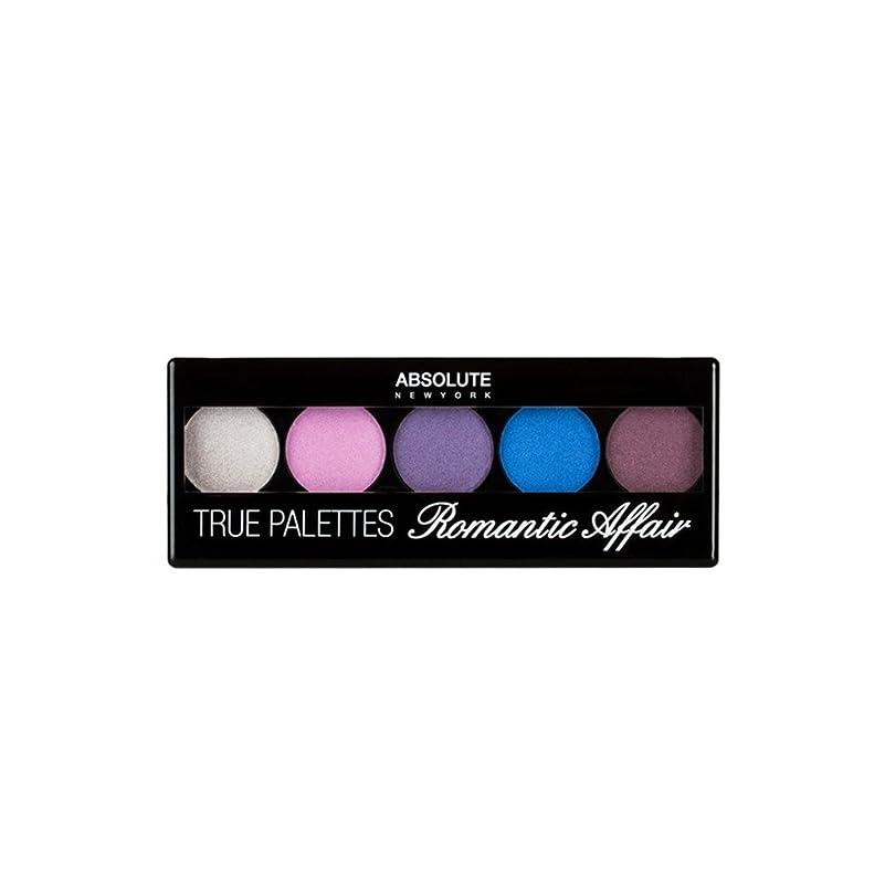 クロールセミナー欺(6 Pack) ABSOLUTE True Palettes - Romantic Affair (並行輸入品)